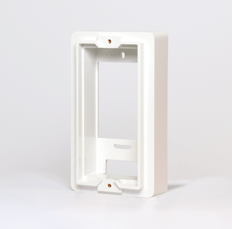 Gang-Box-Mounting-Plate-White